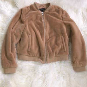 Trendy Fuzzy Coat